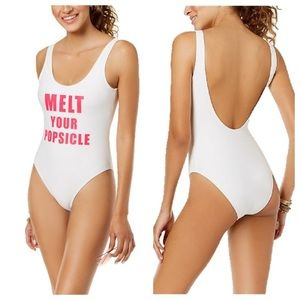 NWT Melt your popsicle one piece swimsuit